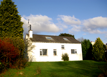 Black Fell Cottage from the back